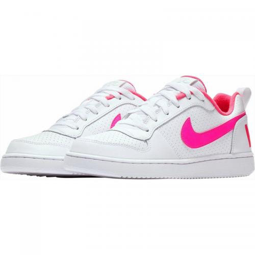Nike - Baskets fille sportswear  de Nike - Blanc - Rose - Vêtements fille