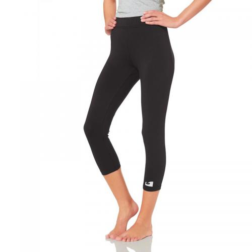 Ocean - Lot de 2 leggings de running (1 long + 1 court) femme - Noir - Le sport