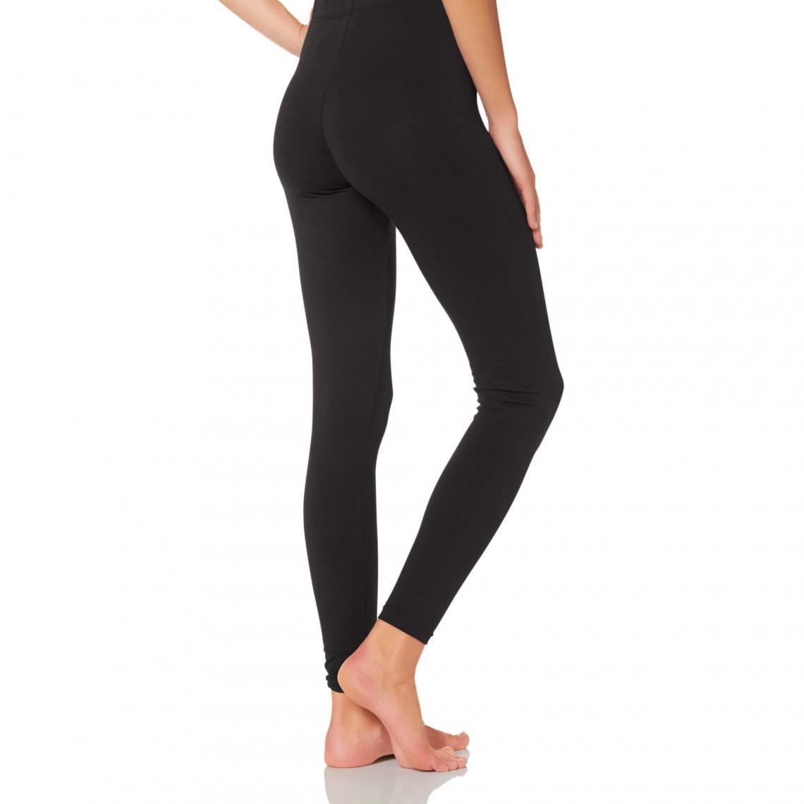 Lot de 2 leggings de running (1 long + 1 court) femme Noir Plus de détails