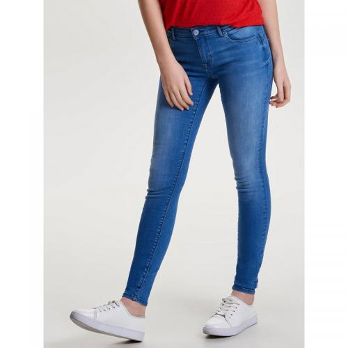 Only - Jean skinny regular super stretch effet push-up L34 femme Only - denim clair - Only