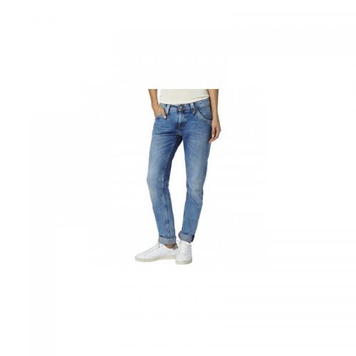 Pepe Jeans - Jean Boy Friends femme Pepe Jeans - Double Stone Used - C 6254372 promos jeans pantalons femme.htm
