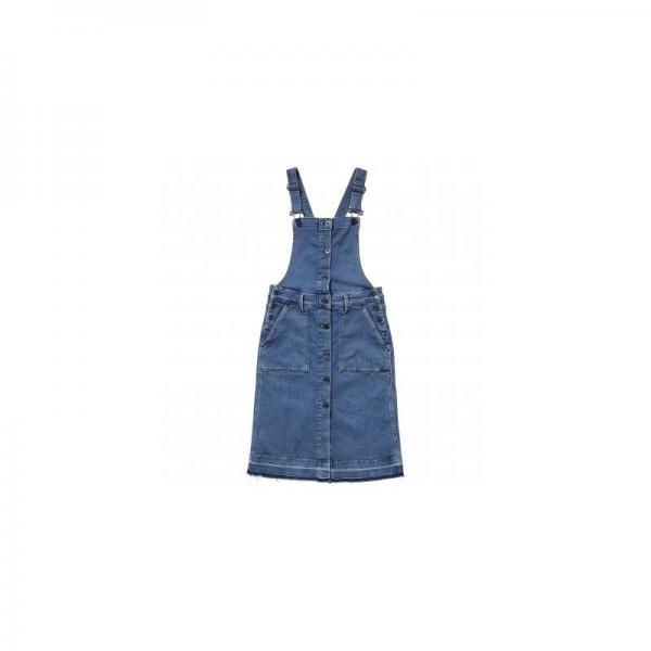 fc42e0ea6b9 Robe courte salopette en jean femme Cathy Pepe Jeans - Bleu Pepe Jeans Femme