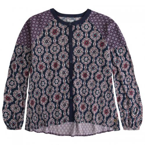 Pepe Jeans - Blouse manches longues imprimé graphique Sall Teen fille Pepe Jeans - Multicolore - Pepe jeans