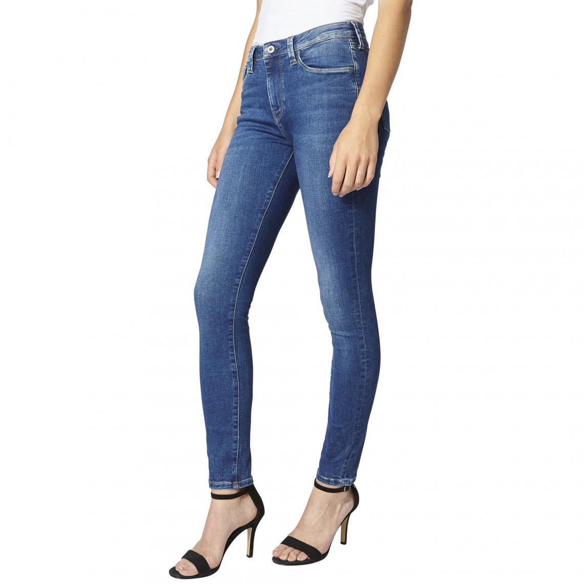 82939dd5396 Jean skinny L32 Regent Powerflex femme Pepe Jeans - Medium Used Pepe Jeans  Femme
