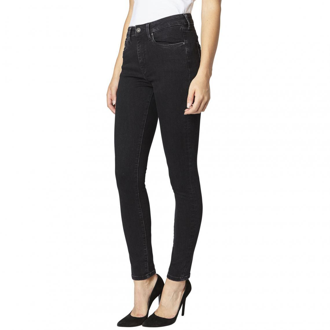d6077ac84df Jean skinny L32 Regent Powerflex femme Pepe Jeans - GREY USED Pepe Jeans  Femme