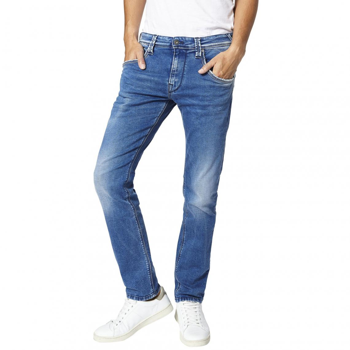 Jean droit L32 Zinc Trublu homme Pepe Jeans - Medium Used Pepe Jeans Homme 4adc2999a3ae