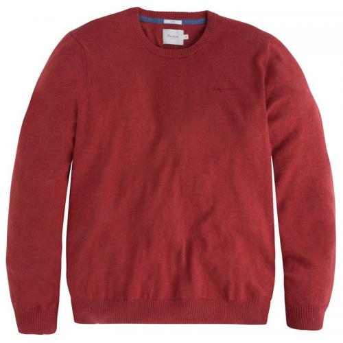 Pepe Jeans - Pull col rond Tim homme Pepe Jeans - Rouge - Pull / Gilet / Sweatshirt