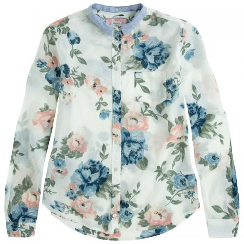 Pepe Jeans - Chemise fleurie manches longues Creta femme Pepe Jeans - Multicolore - Pepe jeans