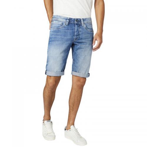 Pepe Jeans - Bermuda denim homme Pepe Jeans - denim clair - Promos  vêtements homme f6014aaea80b