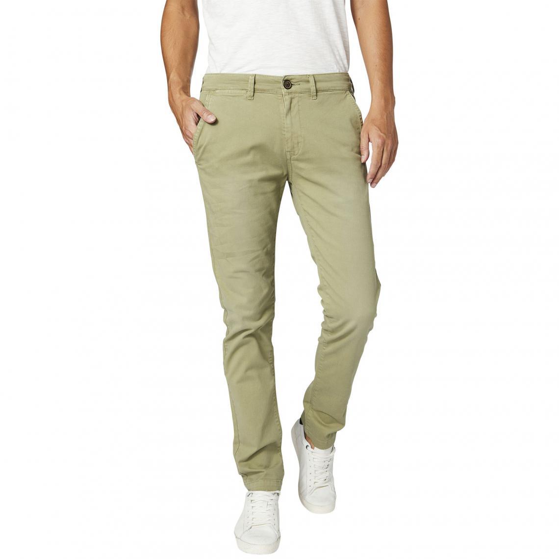Pantalon chino L32 homme Sloane Pepe Jeans