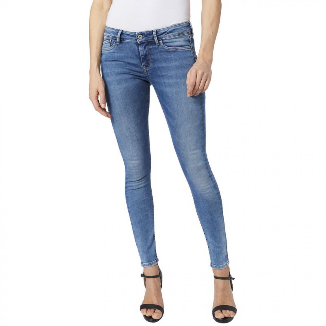 f543ca01211 Jean skinny L32 PIXIE femme Pepe Jean - Bleu Pepe Jeans GENERIQUE