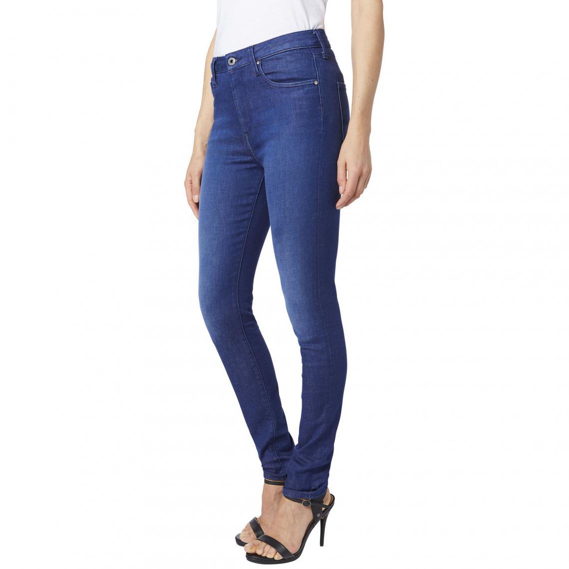 2d5533b5900 Jean skinny L32 Regent femme Pepe Jean - Denim Brut Pepe Jeans Femme