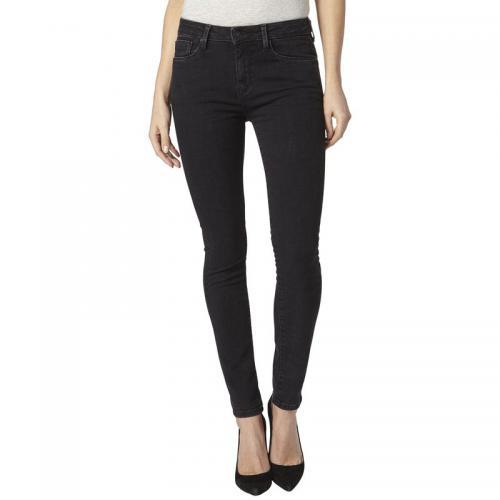 Pepe Jeans - Jean skinny L30 Regent Powerflex femme Pepe Jean - Noir Denim  - Pepe a83472f4aa16