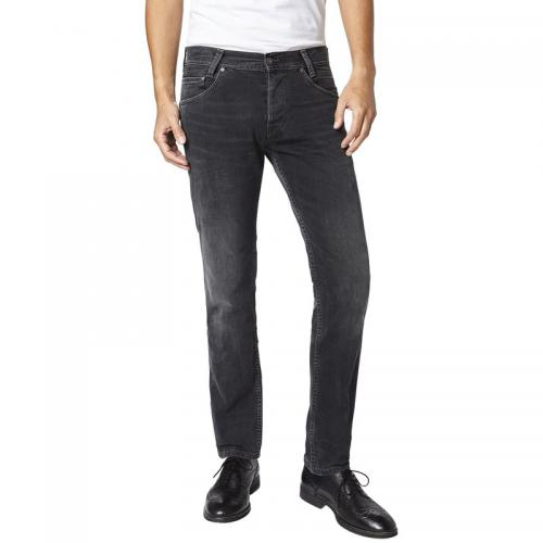 Pepe Jeans - Jean slim L32 Spike homme Pepe Jeans - Black Denim - Vêtements homme