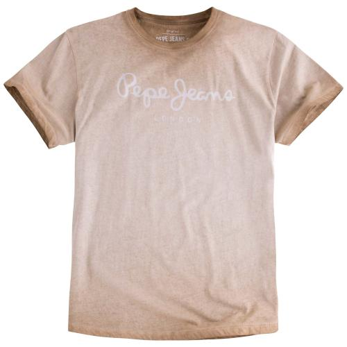 Pepe Jeans - T-shirt manches courtes col rond Pepe Jeans homme - T-shirt / Polo