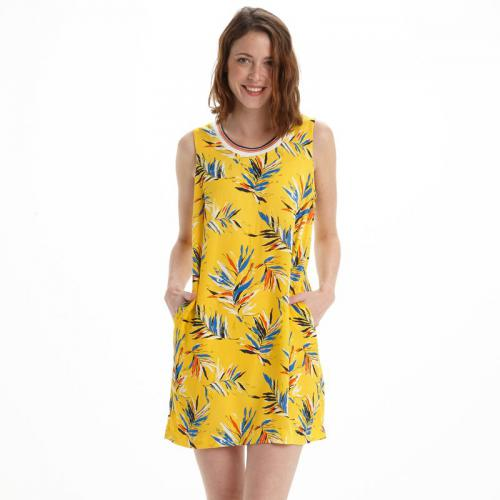 Pepe Jeans - Robe courte femme Pepe Jeans - Jaune - Pepe jeans
