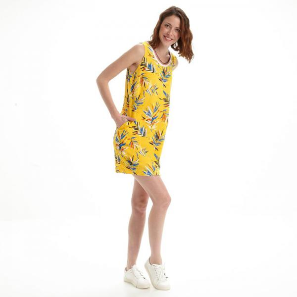Robe courte femme Pepe Jeans - Jaune Pepe Jeans
