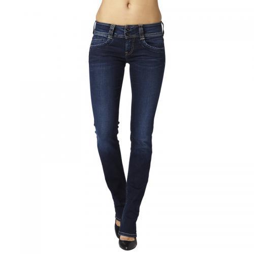 9643a42391168 Pepe Jeans - Jean droit L32 Gen femme Pepe Jeans - 10OZ STRETCH ULTRA DK -