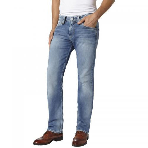 43bfdb5600f Pepe Jeans - Jean droit Cash homme Pepe Jeans - denim clair - Pepe jeans