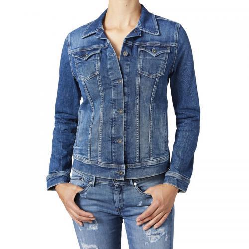 Pepe Jeans - Veste en jean femme Pepe Jeans - Denim Bleu - Pepe jeans 5206874ce9d4