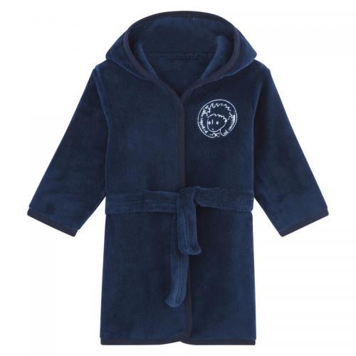 5931b666ad271 Petit prince - Robe de chambre à capuche garçon Le Petit Prince - Bleu  Marine -