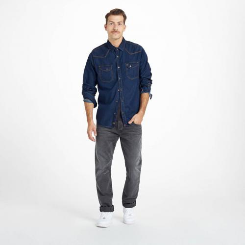 Petrol - Jean tapered homme US 32 Tofield Petrol Industries - Gris - Soldes vêtements homme