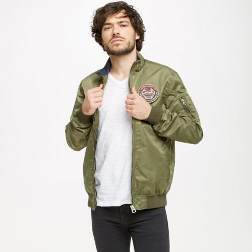 Petrol - Blouson col montant multipoches homme Petrol Industries - Vert