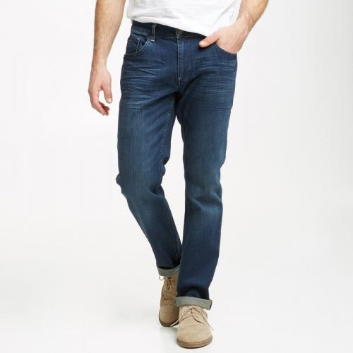 Petrol - Jean tapered US 32 homme Tymore Petrol Industries - Bleu - Promos vêtements homme