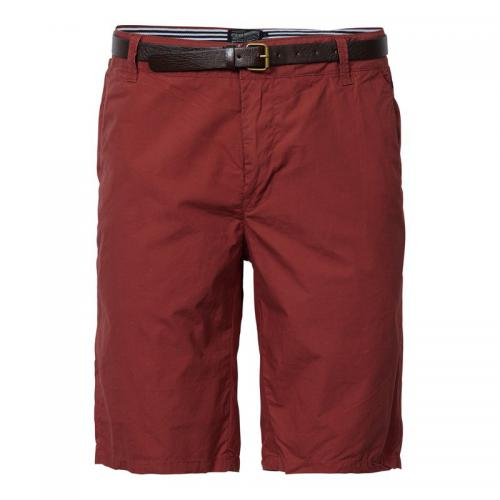 Bermuda chino + ceinture amovible homme Petrol Industries - Bordeaux