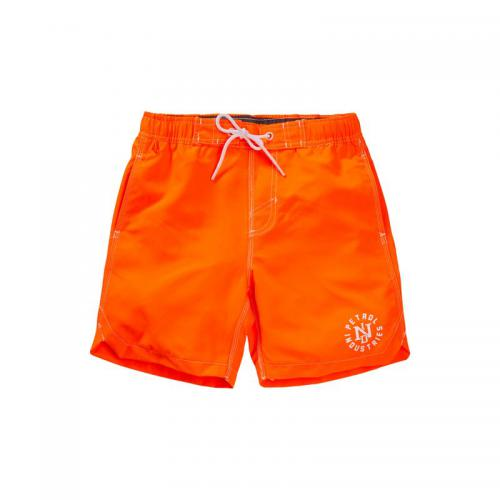 Petrol - Short de bain uni homme Petrol Industries - Orange Fluo - Soldes