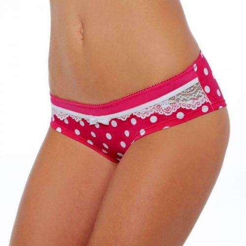 Pomm Poire - Shorty blanc Lana POMM'POIRE - Rose - Shorties, boxers