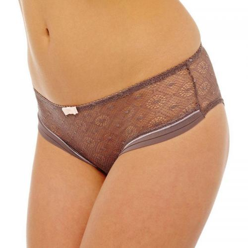 Pomm Poire - Shorty chocolatpoudre Umbrella POMM'POIRE - Marron - La lingerie