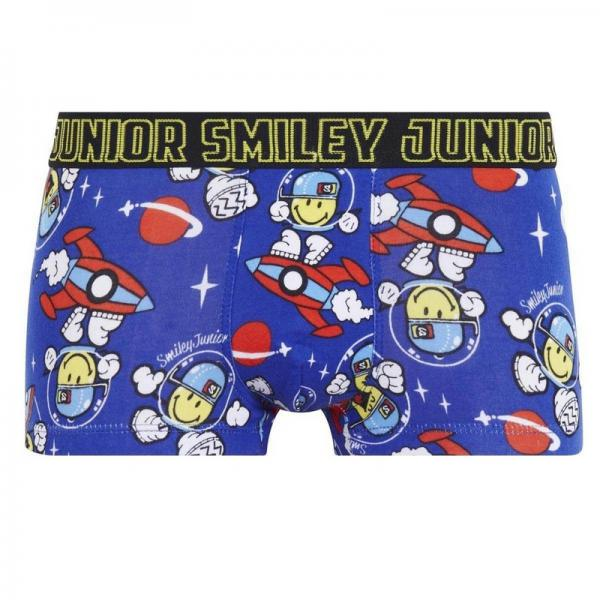 Boxer Boy imprimé Space Cowboy by Smiley POMM'POIRE - Multicolore Pomm Poire Enfant