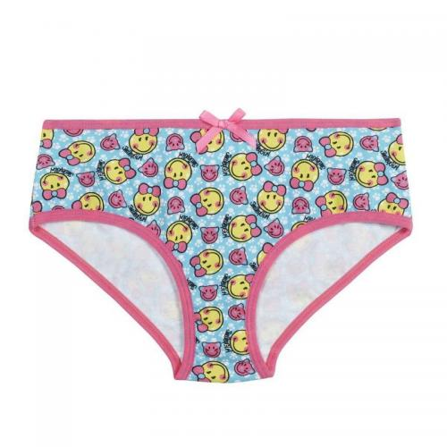Pomm Poire - Lot de 2 boxers imprimés Best Friend by Smiley POMM'POIRE - Multicolore - Sous-vêtement enfant