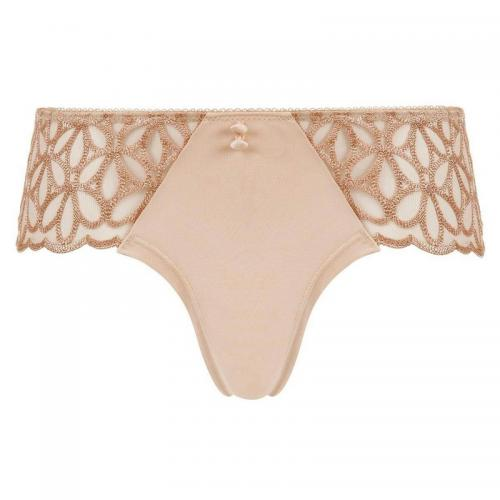 Pomm Poire - Shorty blanc Invitation POMM'POIRE - Beige - Shorties, boxers