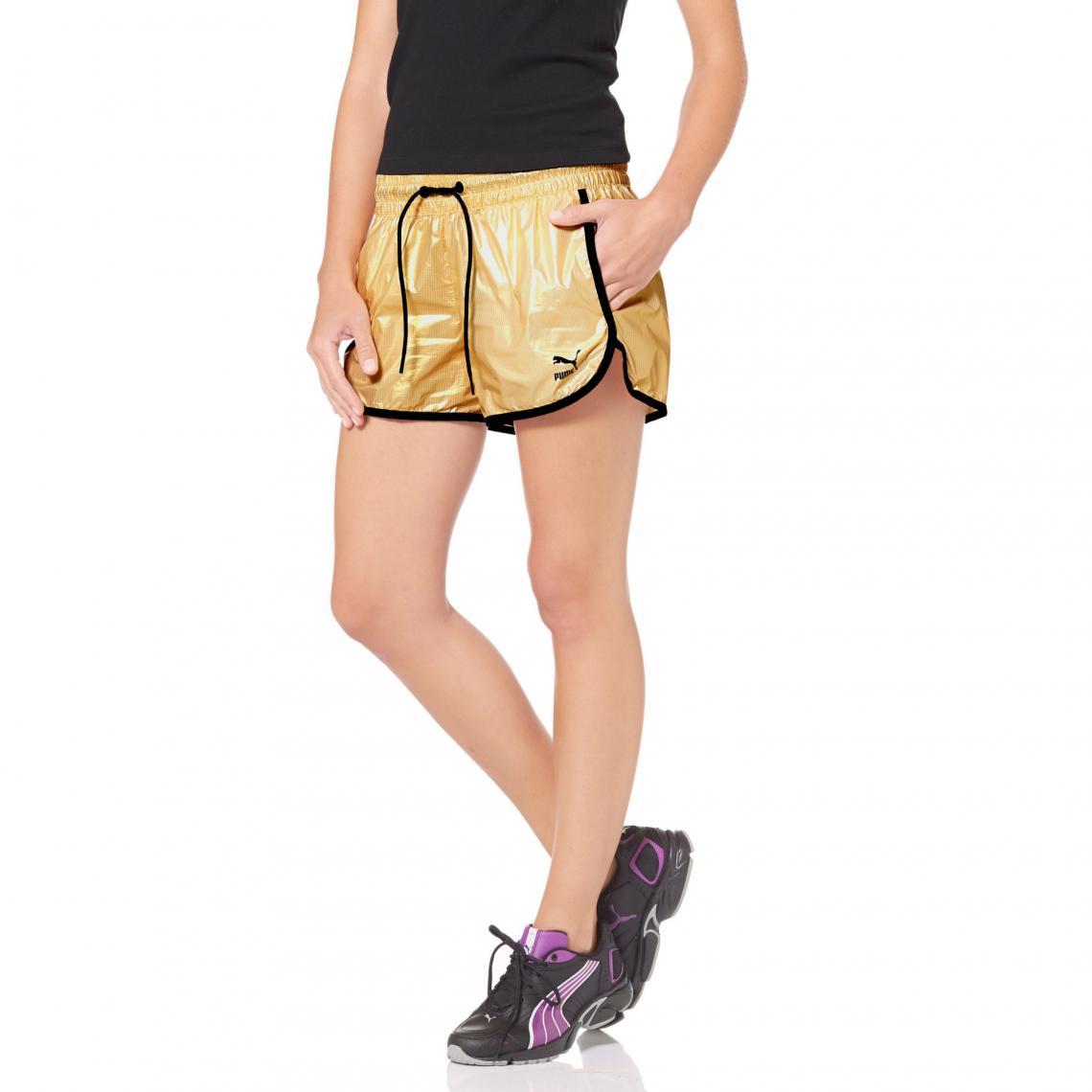 Short Puma Jaune Femme 3suisses Brillant Aspect qAnrAvR6