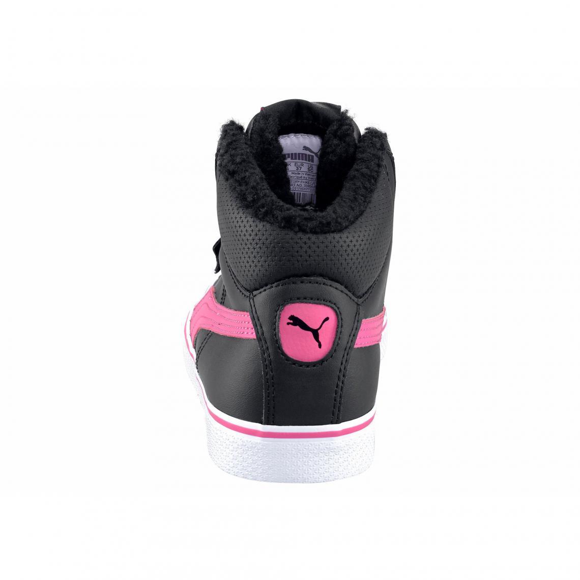 Hautes Vulc Mixte Baskets Rose Vif Enfant Jr Puma Mid Perf Noir Sq7PRnwx