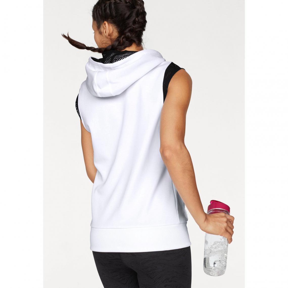 63021e4494a Sweats de sport femme Puma Cliquez l image pour l agrandir. Sweat-shirt à  capuche sans manches femme Explosive Sleeveless Hoodie ...