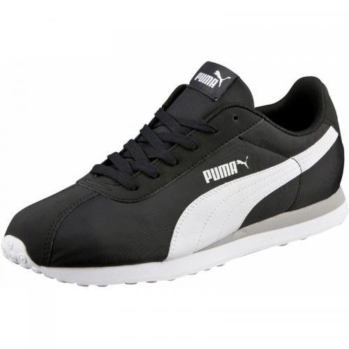 buy online 4c24c 227ca Puma - Puma Turin NL chaussures de sport basses homme - Noir - Blanc - Puma