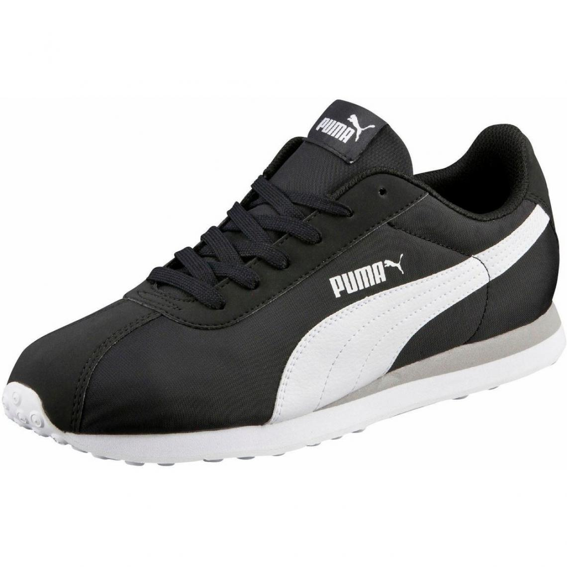 edfd2f15d320 Puma Turin NL chaussures de sport basses homme - Noir - Blanc | 3 ...