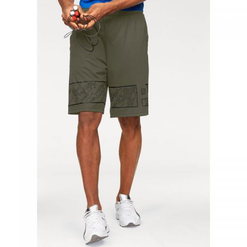 Puma - Short de sport homme Motion Flex 10'' Graphic Short PUMA - Kaki - Bermudas, shorts homme