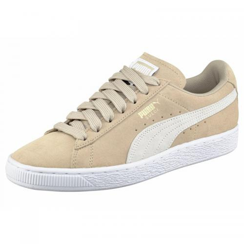 Puma - Puma Suede Classic+ sneaker homme - rosé / blanc - Sneakers homme