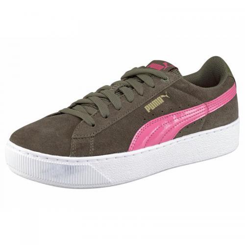9c8838d63e1 Puma - Puma Vikky chaussures de sport femme - Vert - Puma