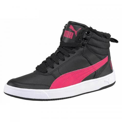 Puma - Chaussures de sport junior Rebound Street v2 PUMA - Noir - Rose Vif - e29c46bf4bc