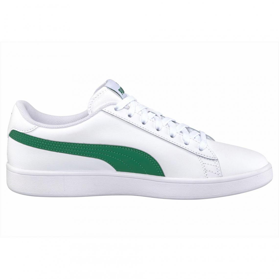 406dde34ac5 Sneakers homme Smash v2 L U Puma - Blanc - Vert