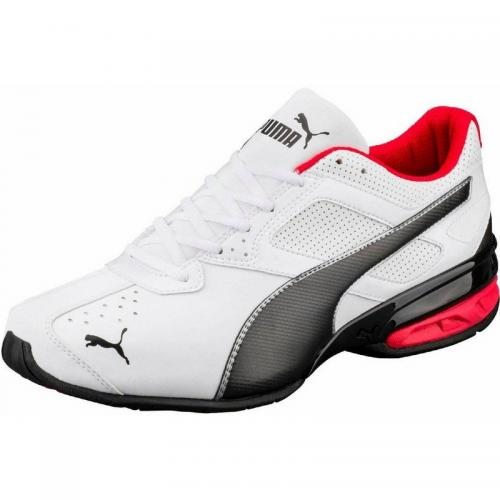 Puma - Puma Tazon 6 chaussures de running homme - Blanc - Promos chaussures, accessoires homme