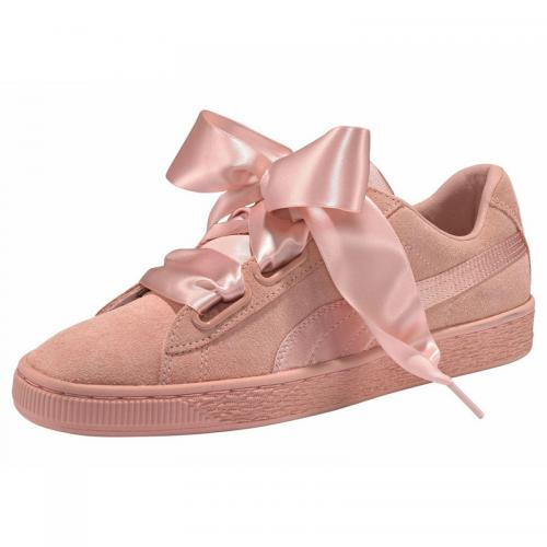 Sneakers femme Suede Heart EP Wn's Puma - Rose Puma Homme