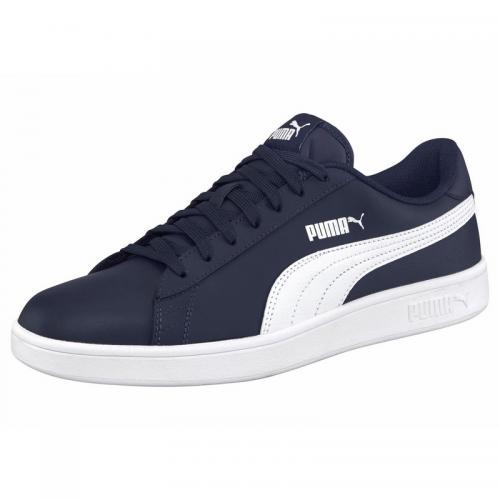 96e7f92025980 Puma - Chaussures de sport homme Puma Smash v2 - Marine - Blanc - Puma