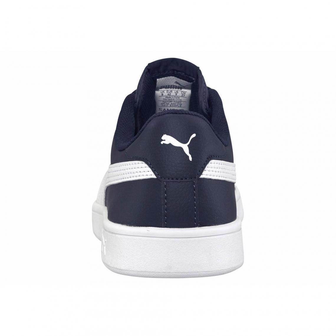 De V2 Puma Chaussures 3suisses Marine Homme Blanc Sport Smash adggqZw
