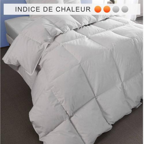 Pyrenex - Couette naturelle anti-acariens 360 g/m2 PYRENEX Greenfirst - Blanc - Couettes adulte